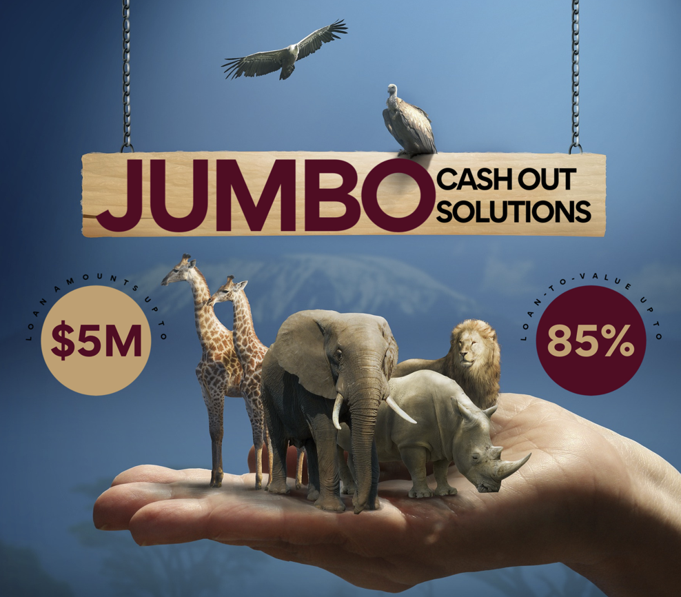 Jumbo Mortgage Cash Out